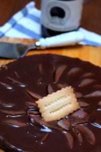 Torta cioccolato e pere prunotto