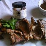 Lamb Chops with Balsamic Jelly