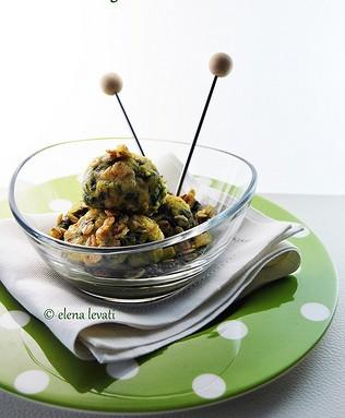 Mini crocchette di riso e spinaci prunotto