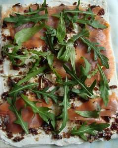 Rotolini salmone e rucola con gelatina di balsamico prunotto 1