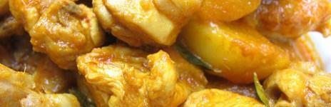Pollo con pesto giallo