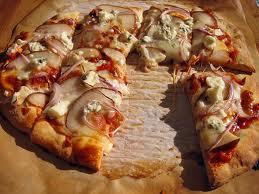 pizza formaggio pere miele prunotto