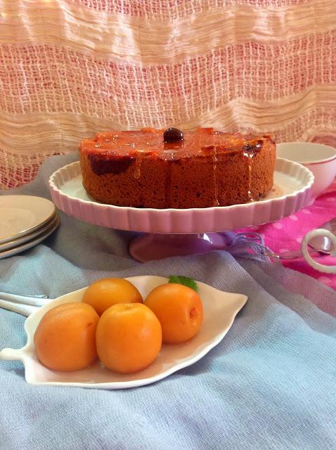 Torta rovesciata alle albicocche prunotto 1