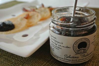 Carciofi con guanciale croccante, cialde di parmigiano e gelatina balsamica prunotto 3