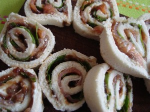 Rotolini salmone e rucola con gelatina di balsamico prunotto 3
