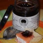 Cremino di salmone e feta su poltroncina di parmigiano