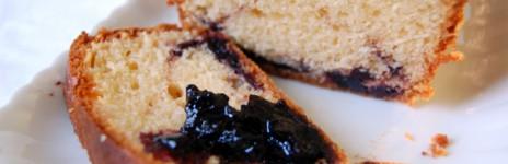 Plum Cake alla Confettura extra di Ciliegie