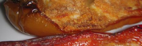Peperoni alla Brace con formaggio gratinato