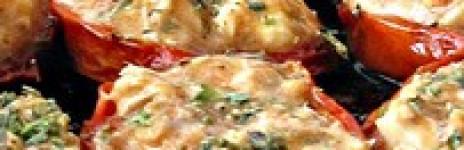 Pomodori Confit Ripieni di Sgombro