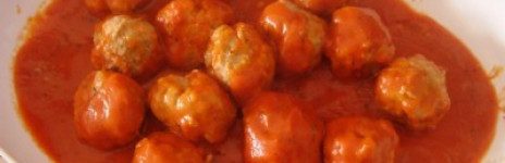 Polpette (meatball) with tomato